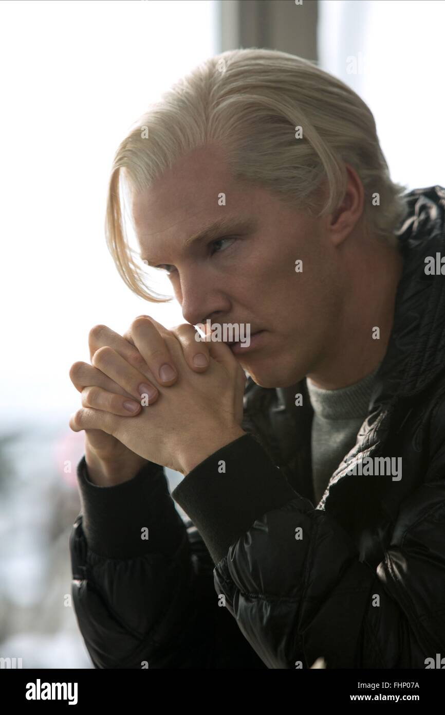 BENEDICT CUMBERBATCH THE FIFTH ESTATE (2013) - Stock Image
