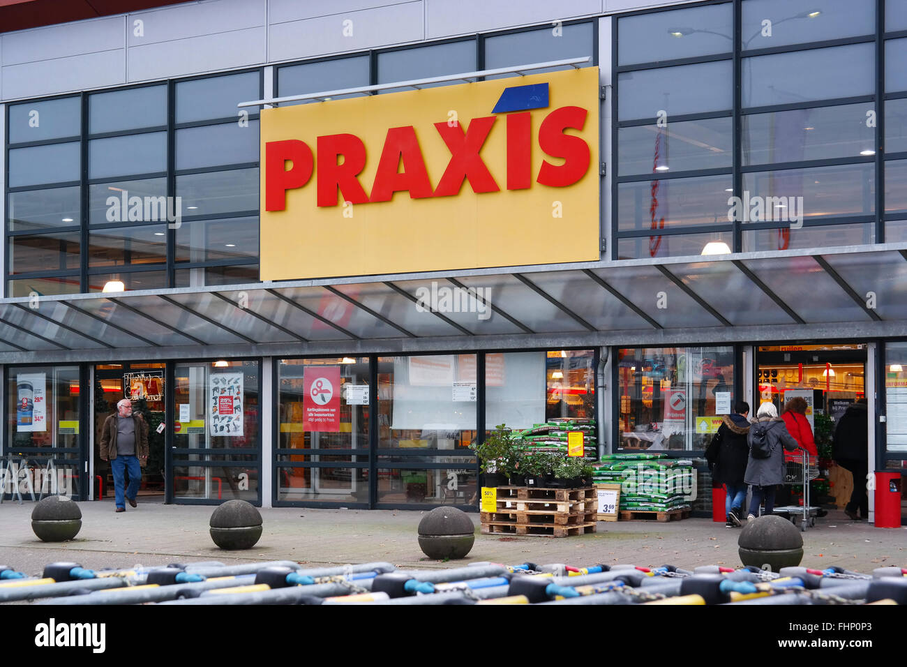 Branch of Praxis Do-It-Yourself Centre - Stock Image