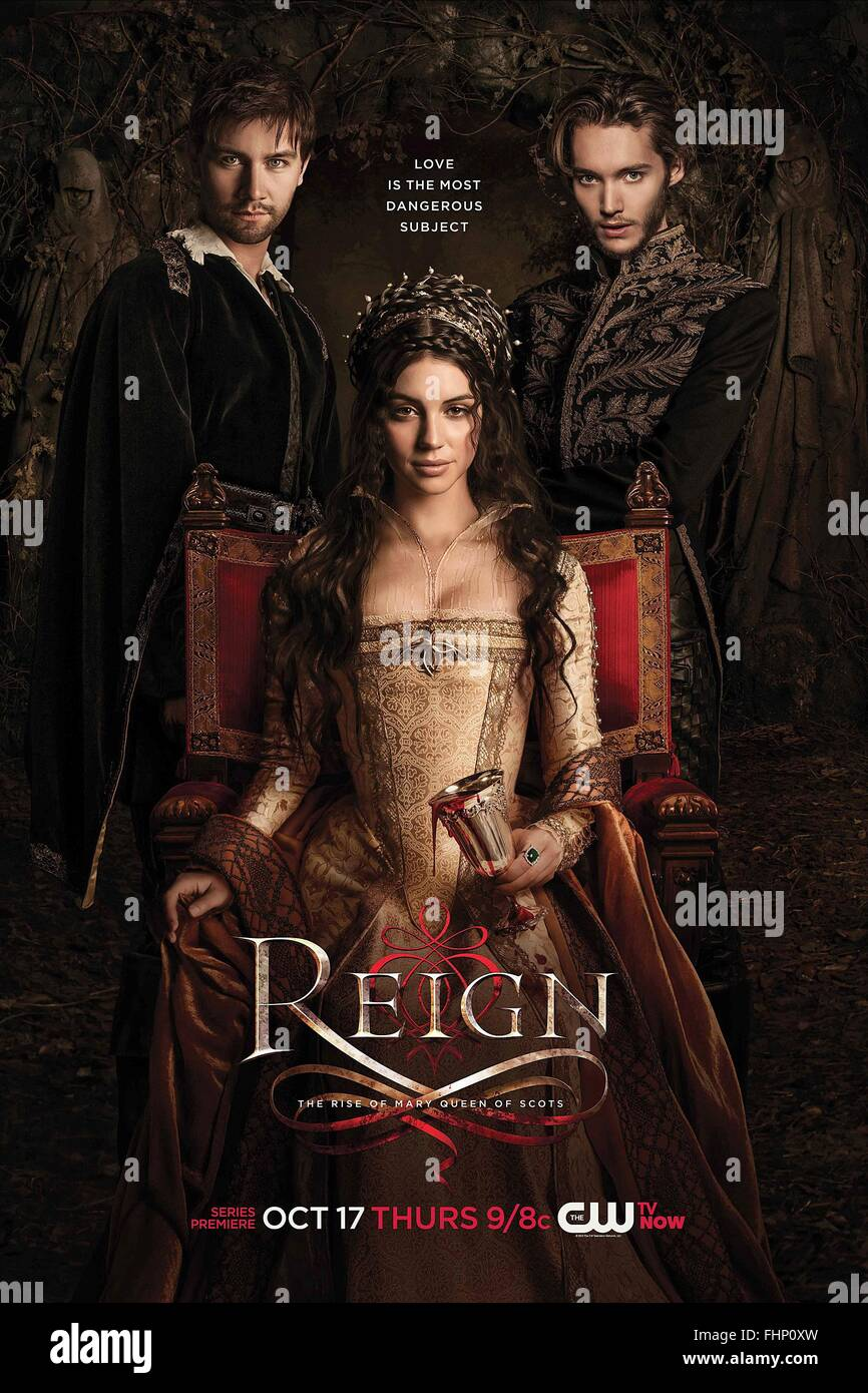 MOVIE POSTER REIGN (2013) - Stock Image