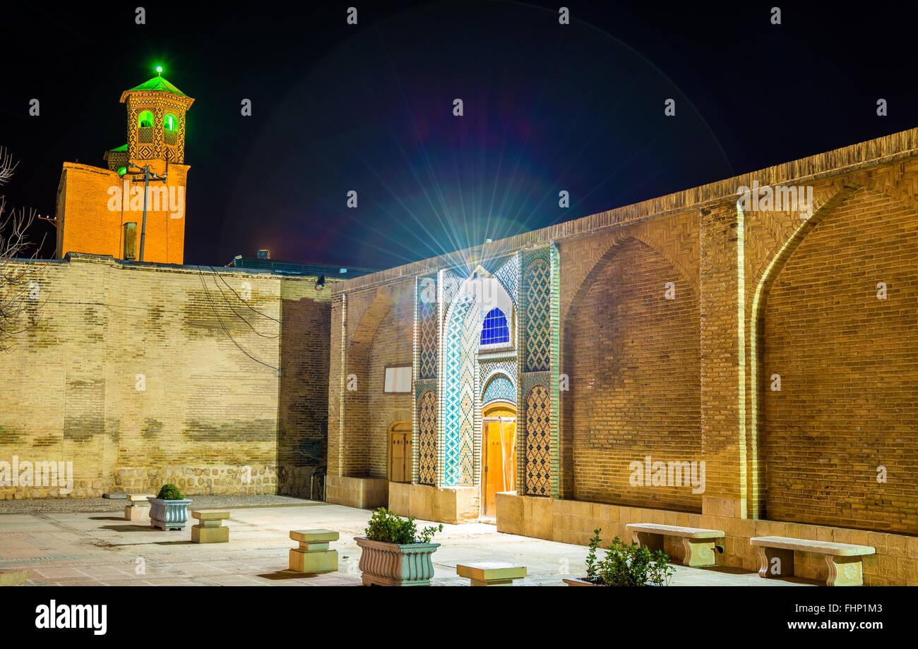 View of Vakil Bath in Shiraz, Iran - Stock Image