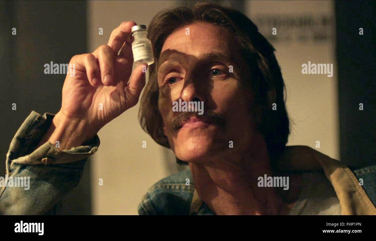 MATTHEW MCCONAUGHEY DALLAS BUYERS CLUB (2013) - Stock Image