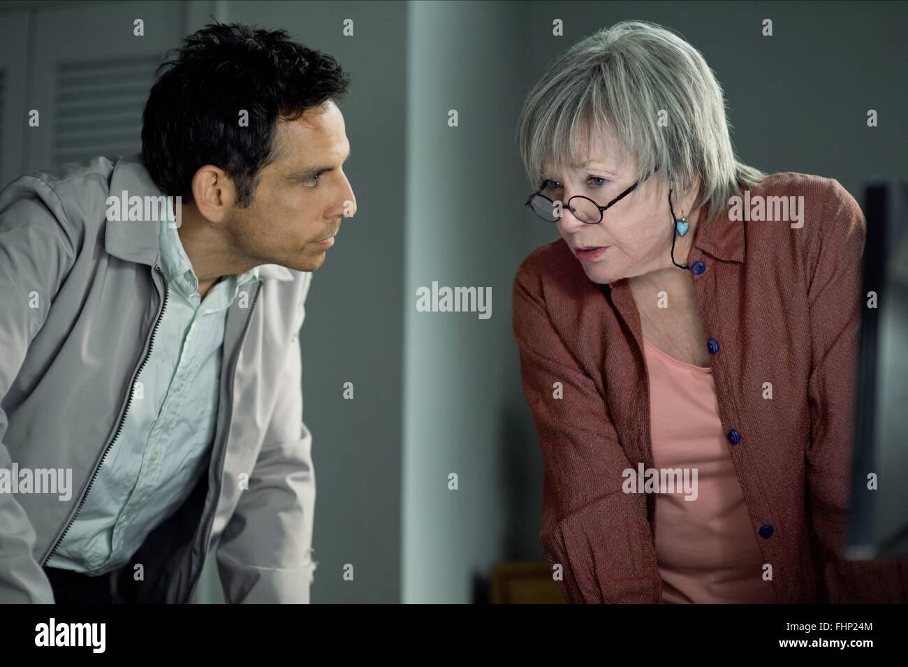 Ben Stiller Shirley Maclaine The Secret Life Of Walter Mitty 2013 Stock Photo Alamy