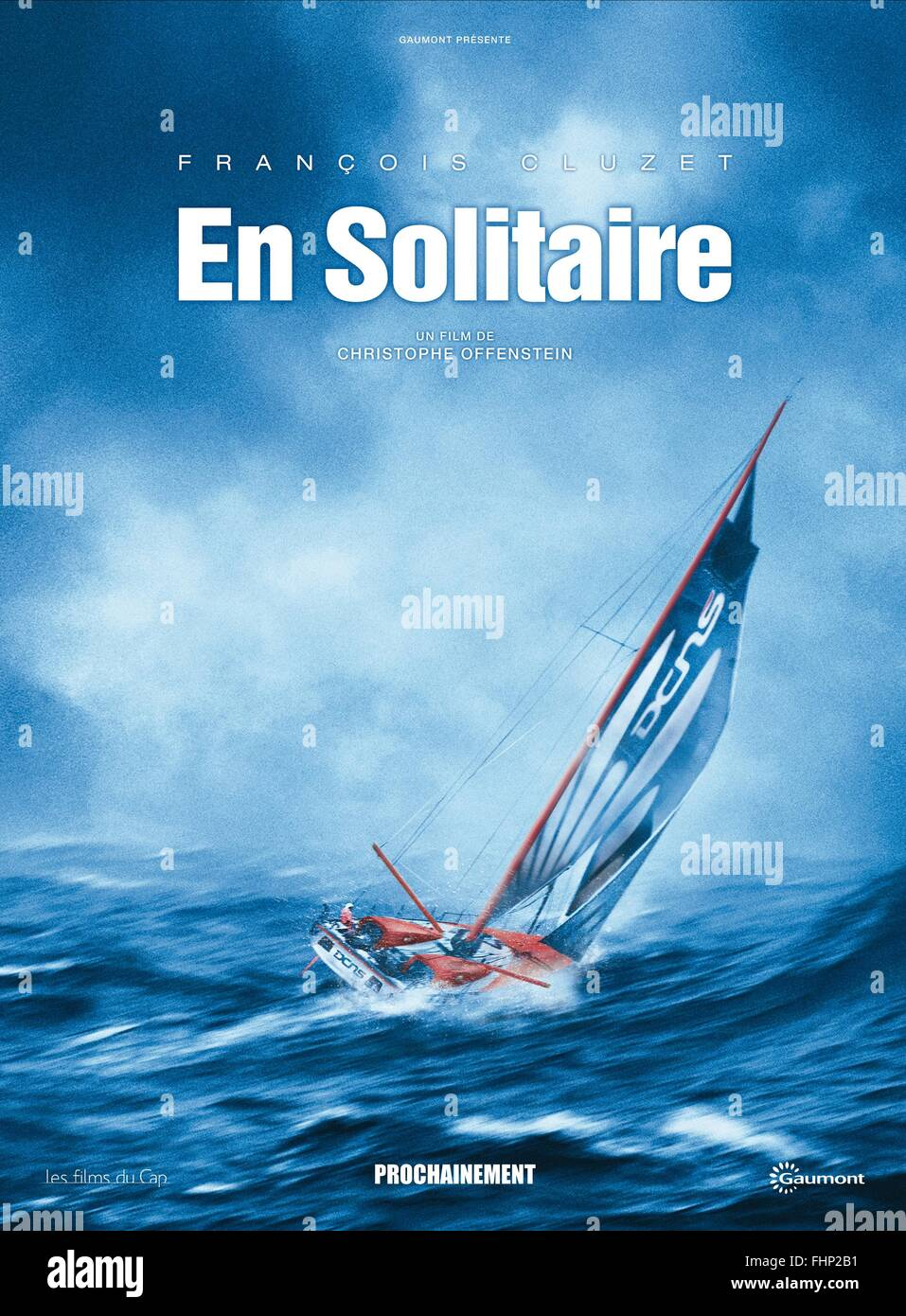 YACHT POSTER TURNING TIDE; EN SOLITAIRE (2013) - Stock Image