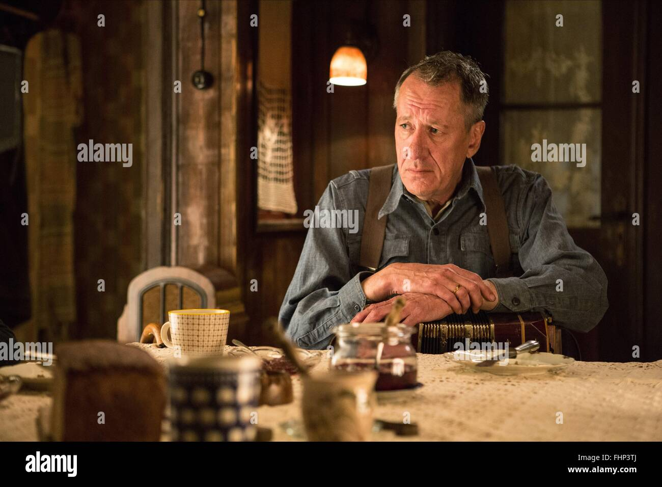 GEOFFREY RUSH THE BOOK THIEF (2013) - Stock Image