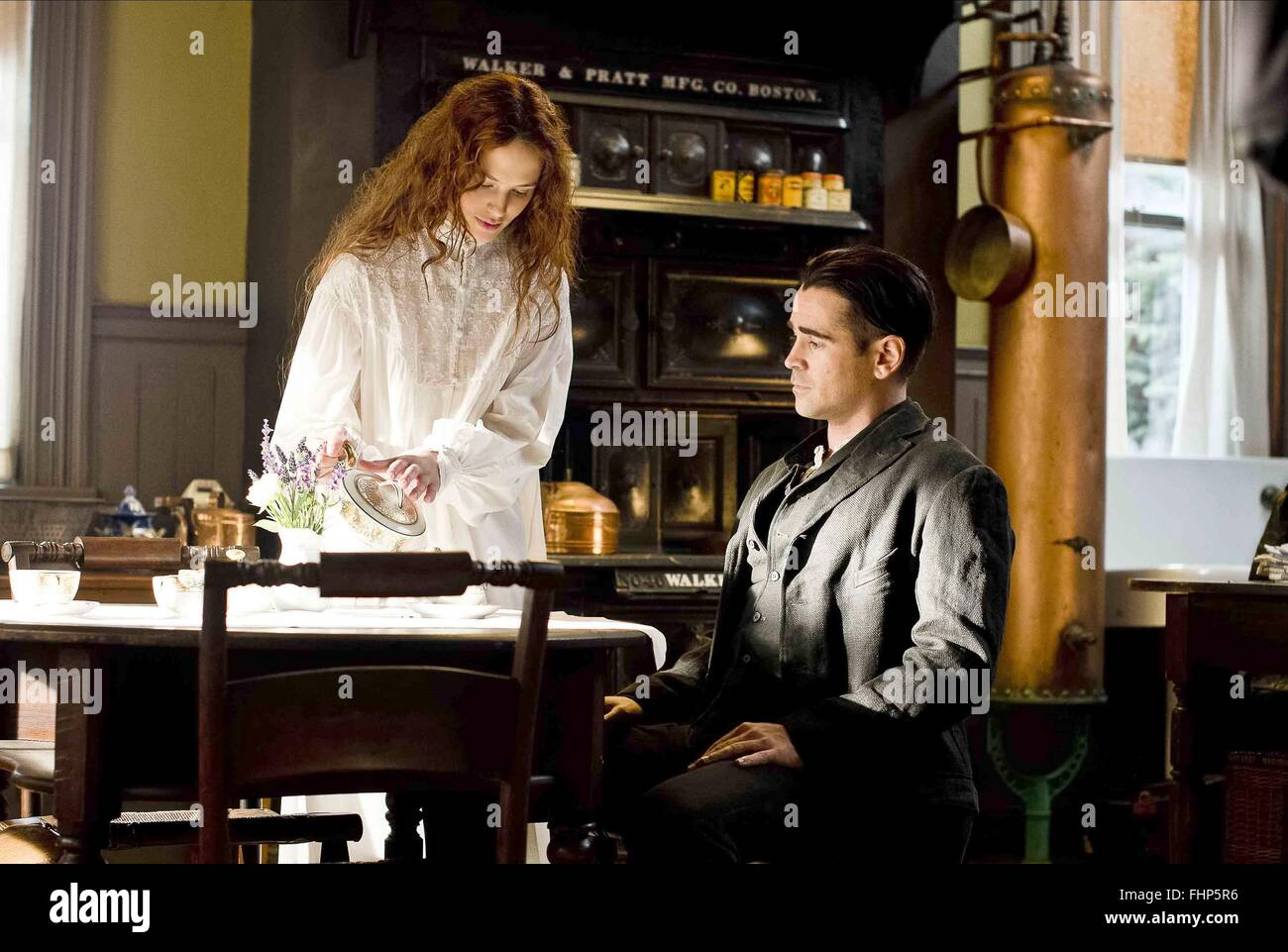 JESSICA BROWN FINDLAY & COLIN FARRELL A NEW YORK WINTER'S TALE; WINTER'S TALE (2014) - Stock Image