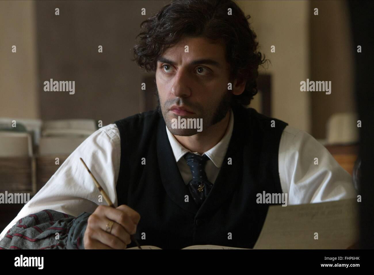 OSCAR ISAAC IN SECRET (2013) - Stock Image