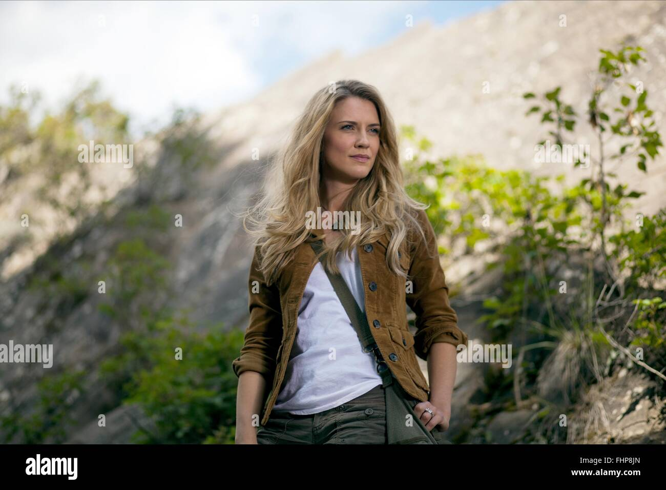 SARA CANNING THE RIGHT KIND OF WRONG (2013) - Stock Image