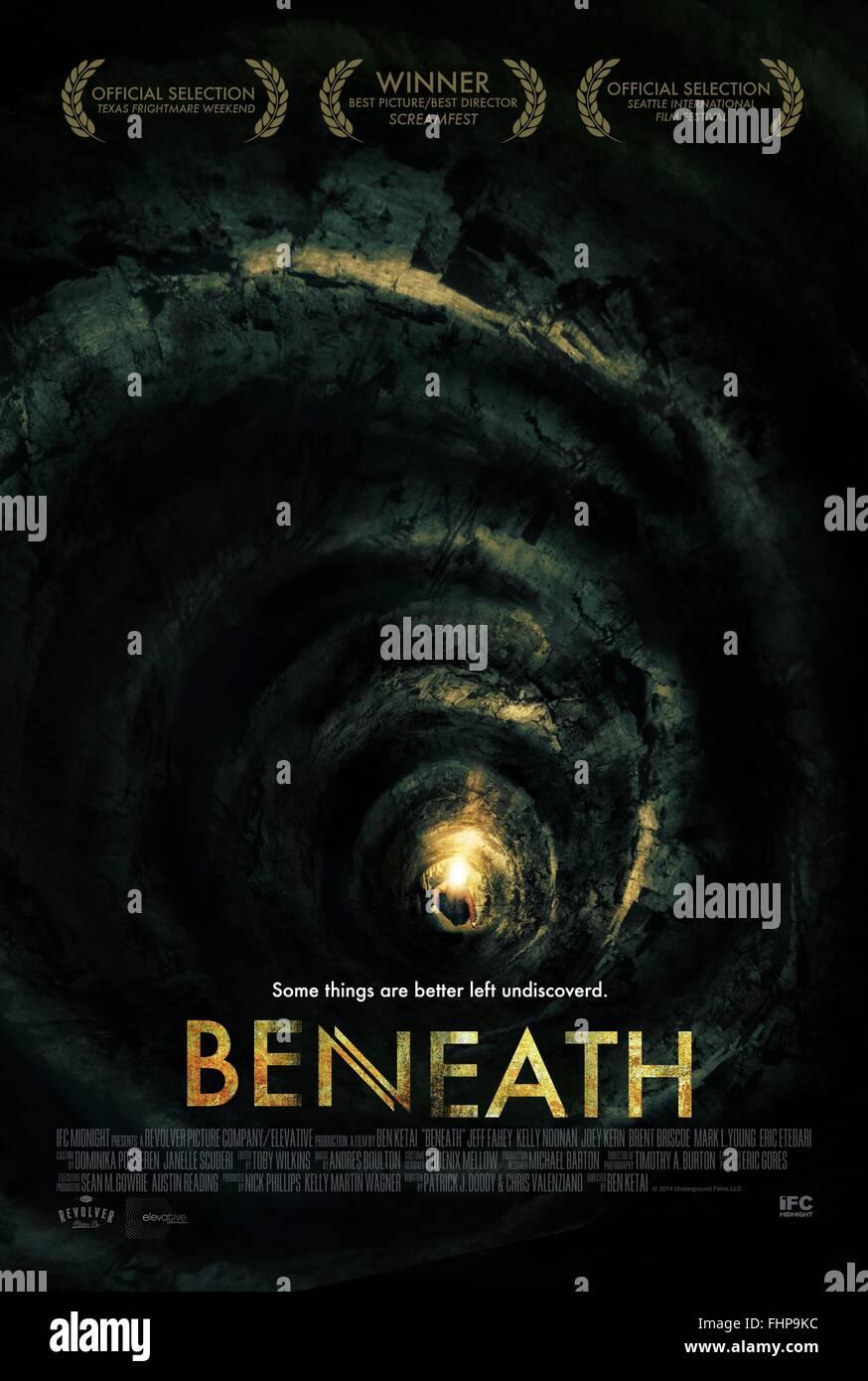 beneath deutsch