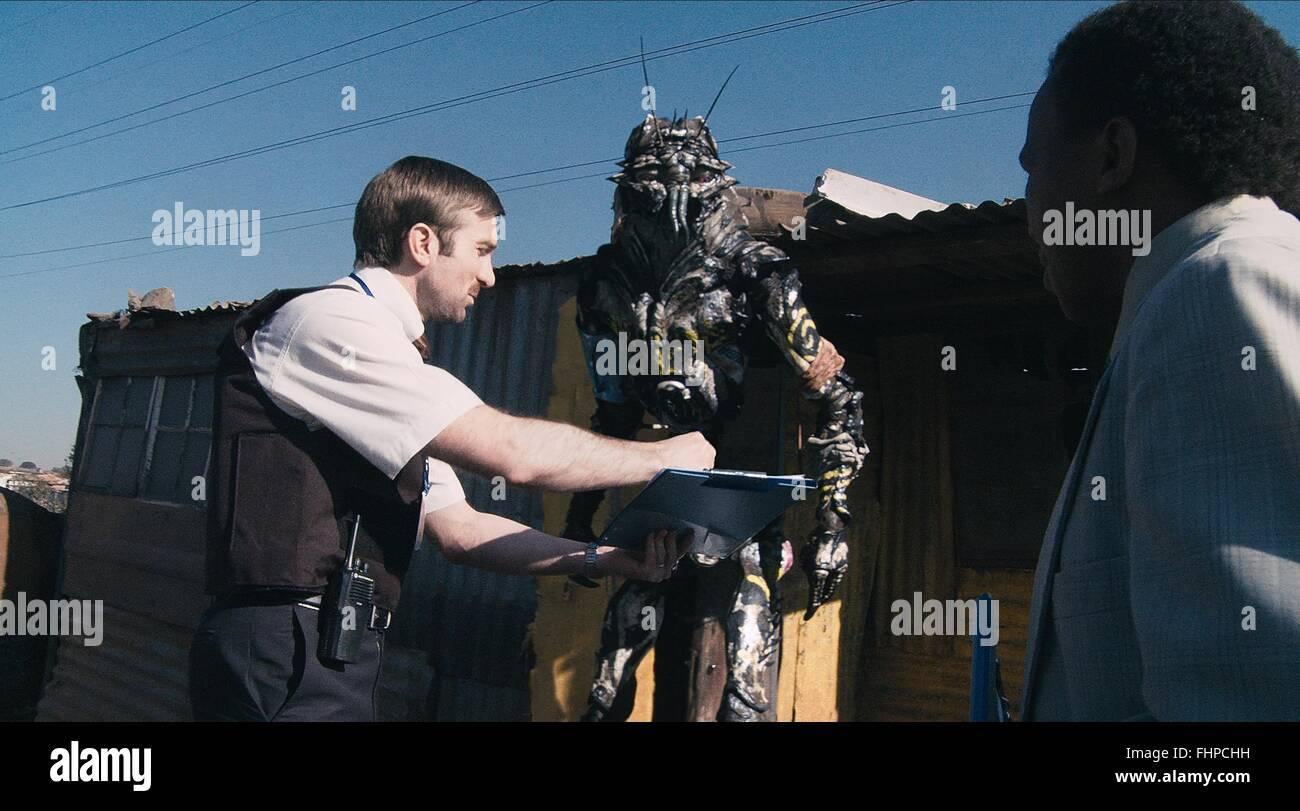 ALIEN SCENE DISTRICT 9 (2009) - Stock Image