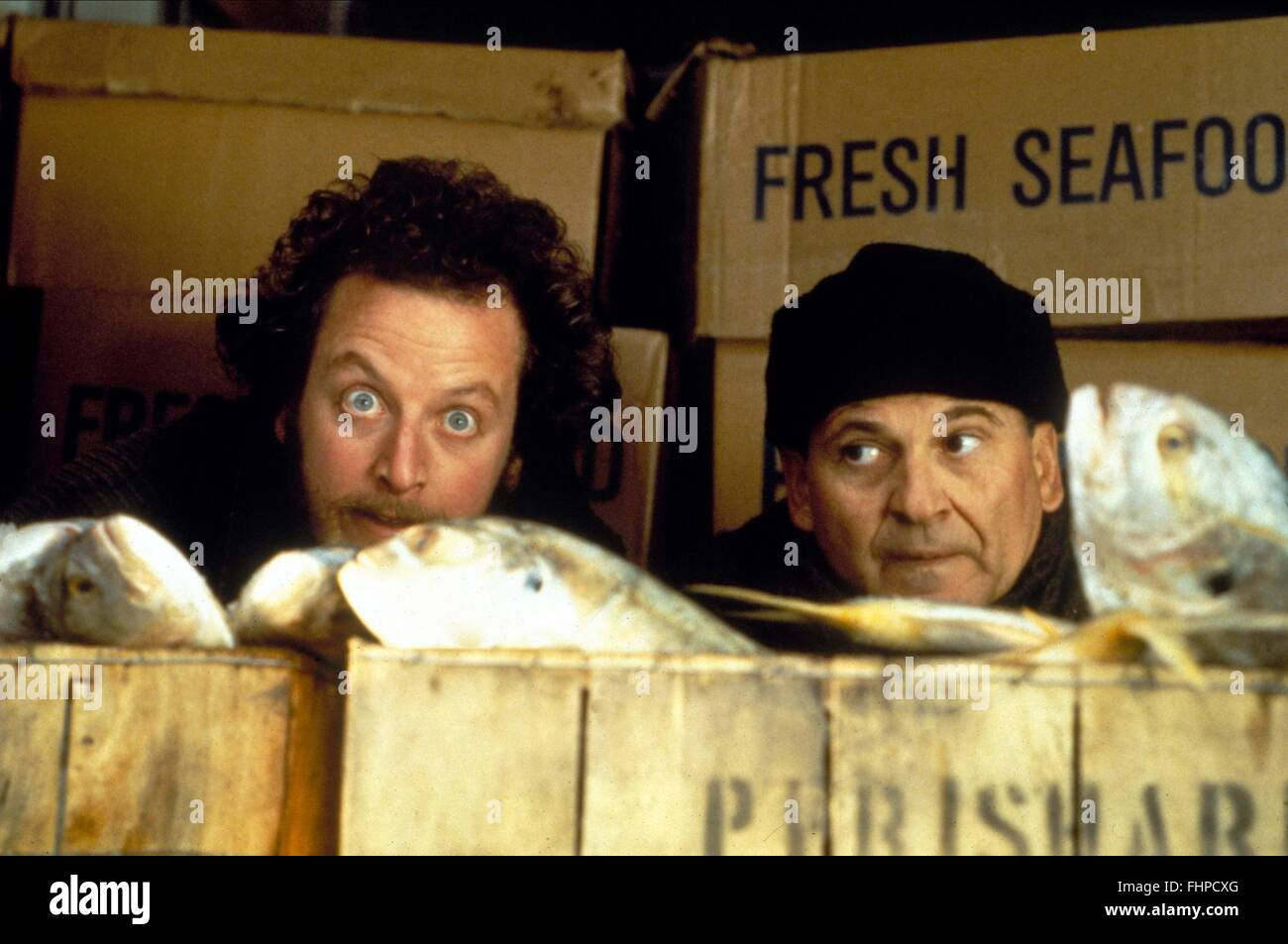 DANIEL STERN, JOE PESCI, HOME ALONE 2: LOST IN NEW YORK, 1992 - Stock Image