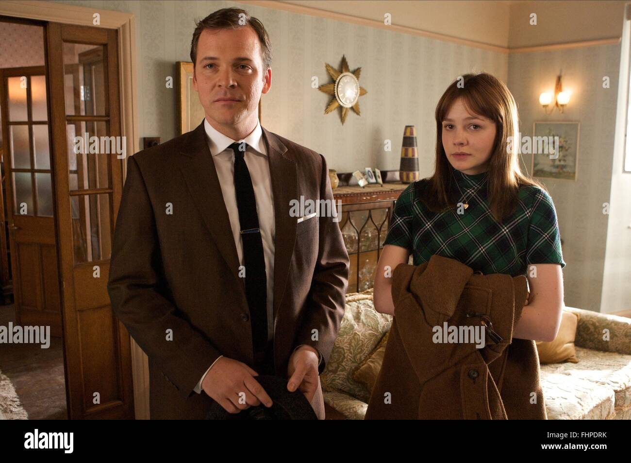 PETER SARSGAARD & CAREY MULLIGAN AN EDUCATION (2009) - Stock Image