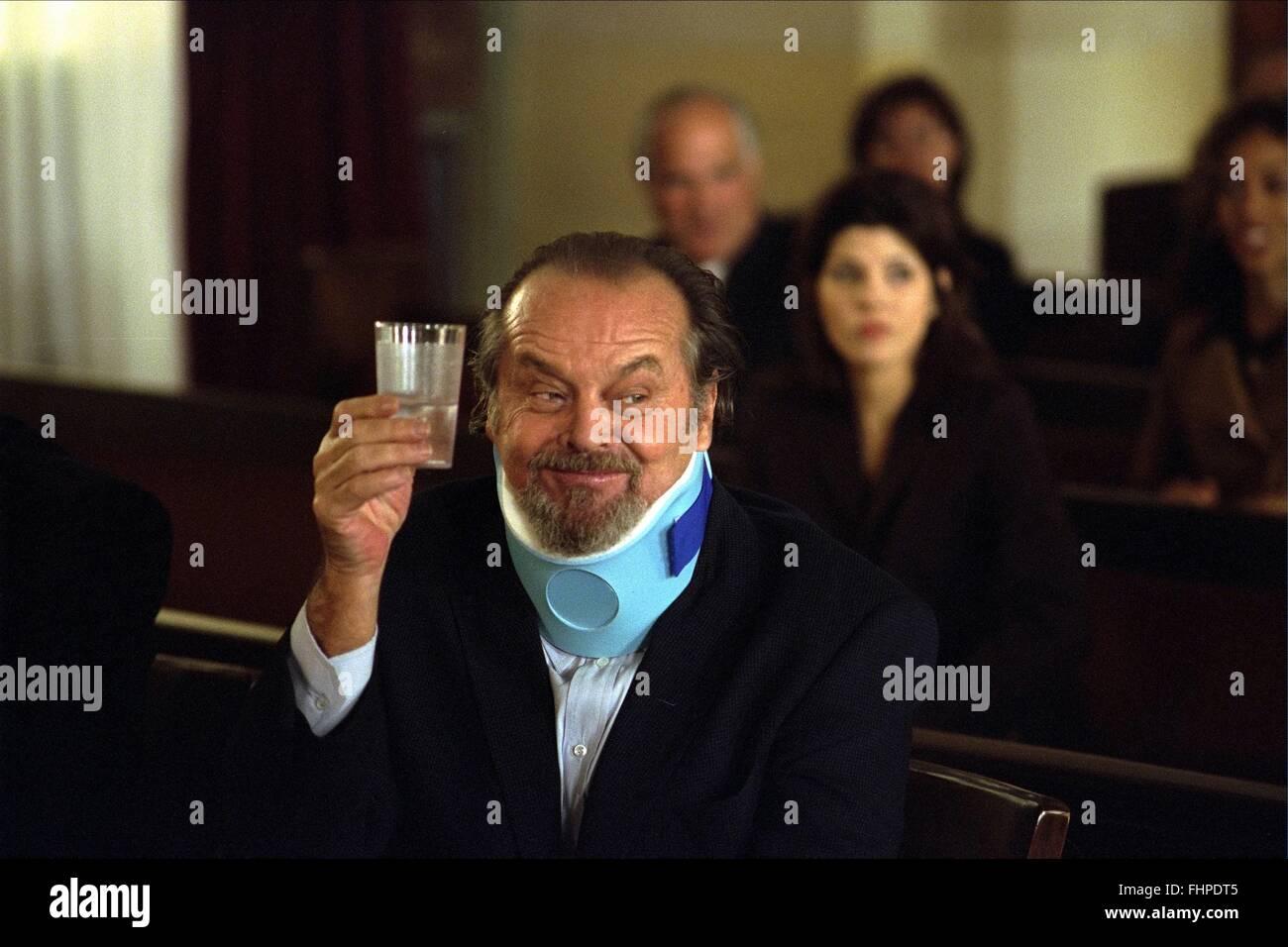 Jack Nicholson Anger Management 2003 Stock Photo Alamy