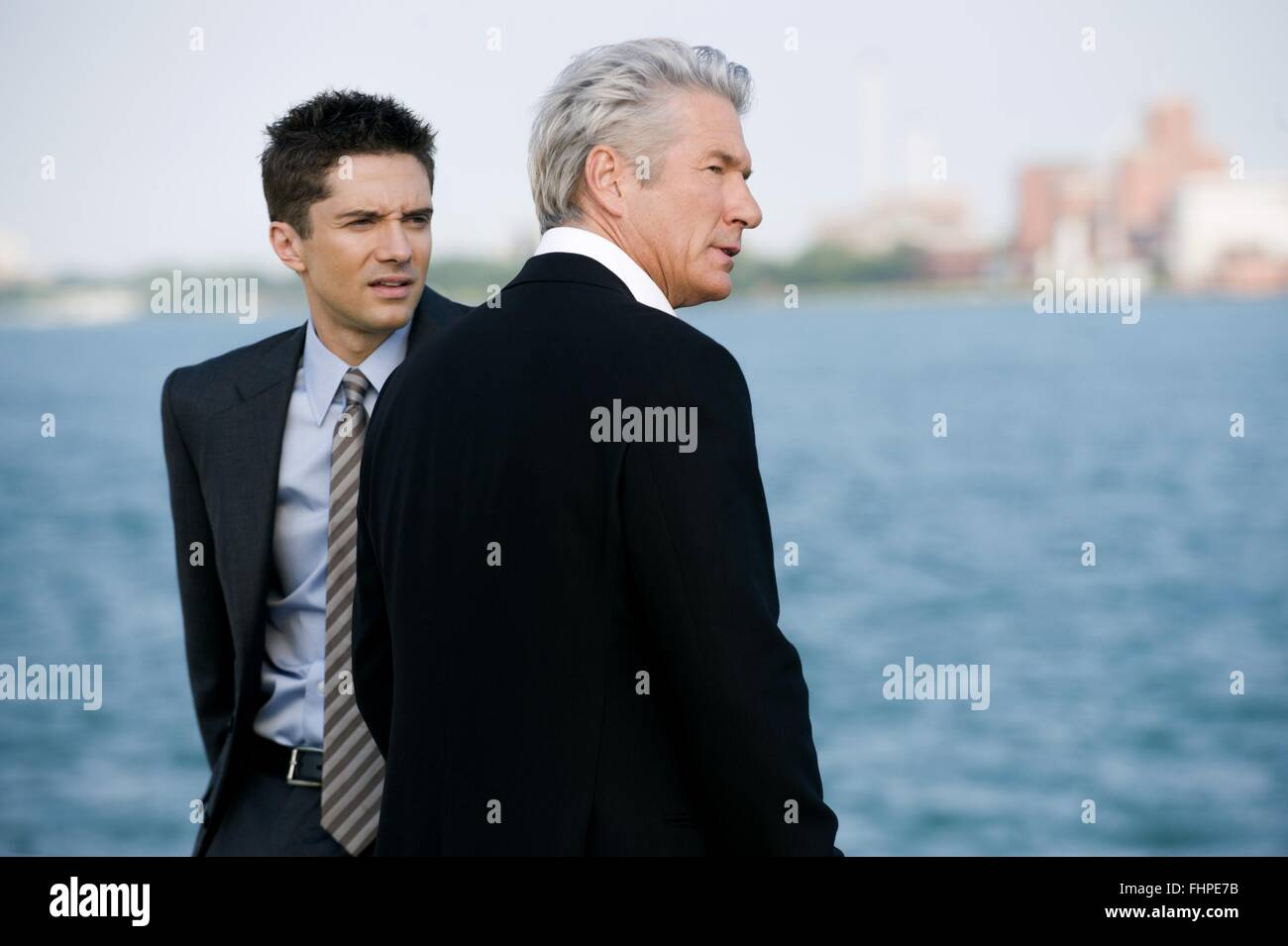 TOPHER GRACE & RICHARD GERE THE DOUBLE (2011) - Stock Image