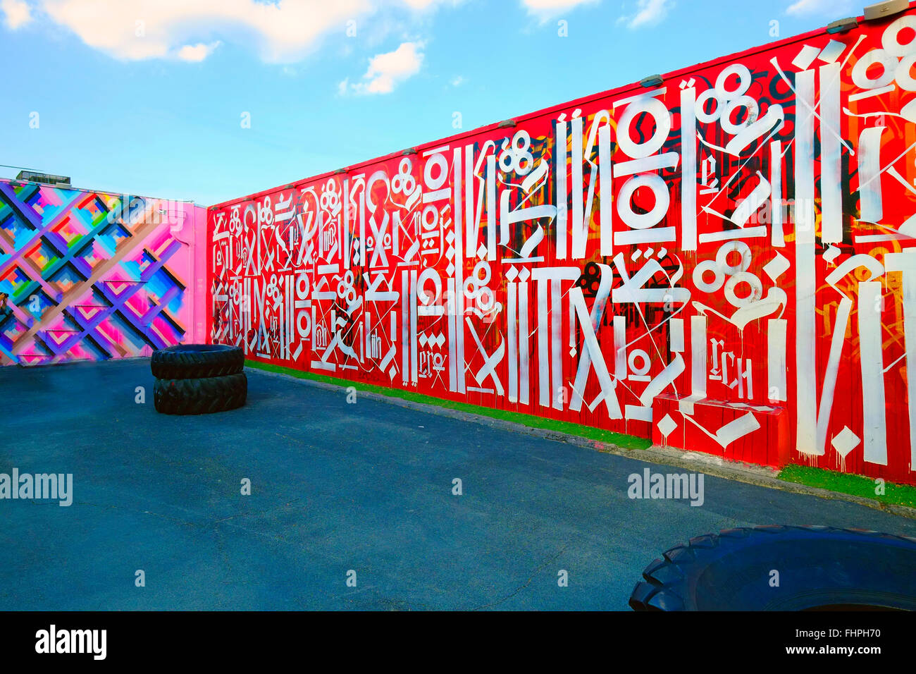 Winwood Walls Miami Beach Florida FL Art Deco Ocean Drive South Beach  sc 1 st  Alamy & Winwood Walls Miami Beach Florida FL Art Deco Ocean Drive South ...