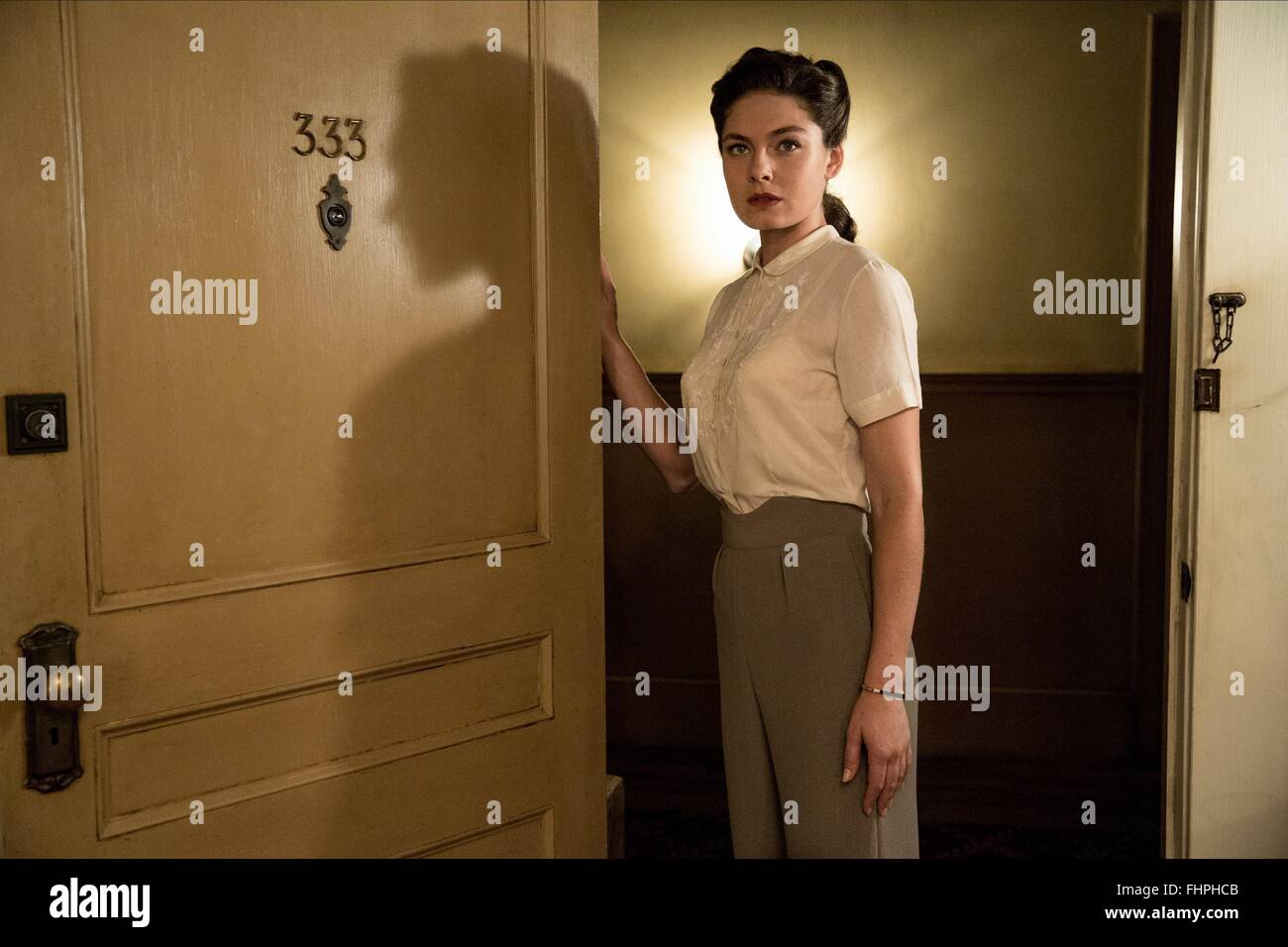 Alexa Davalos Mob City: ALEXA DAVALOS MOB CITY (2013 Stock Photo: 96997611