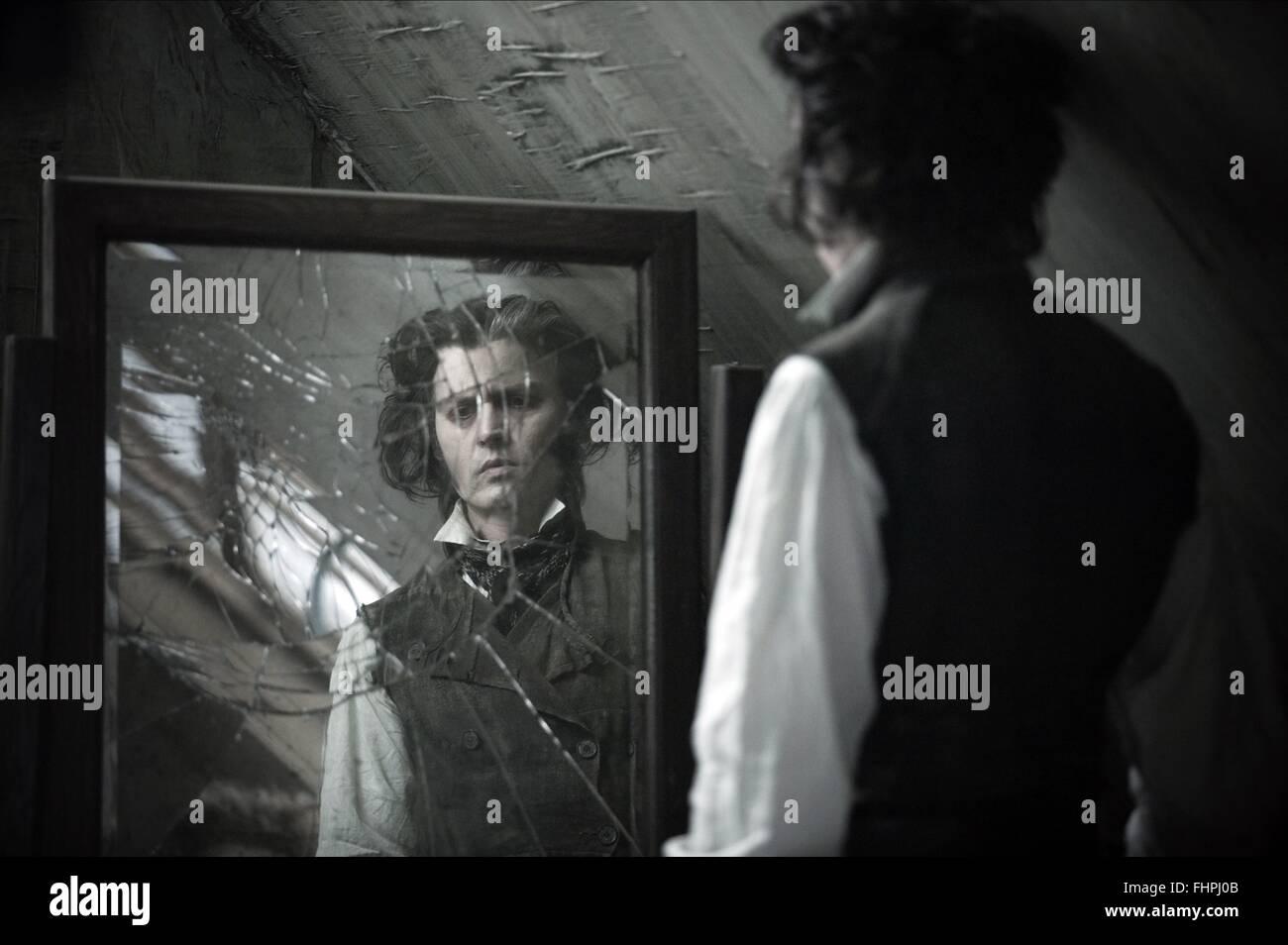 Johnny Depp Sweeney Todd Stock Photos Johnny Depp Sweeney