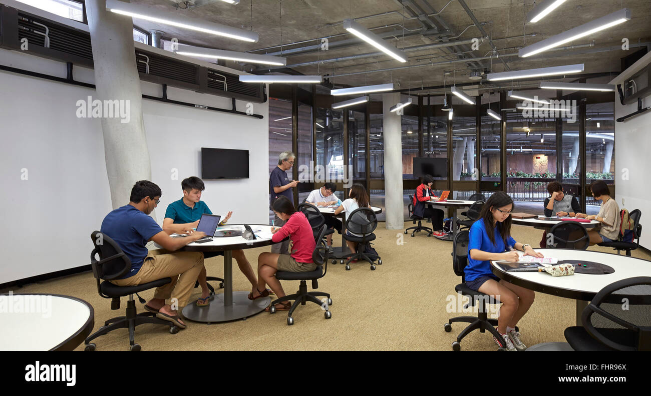 ClassroomNTUNanyang Technological UniversitySingaporeSingaporeSingaporeArchitect:  Heatherwick Studio2015. - Stock Image