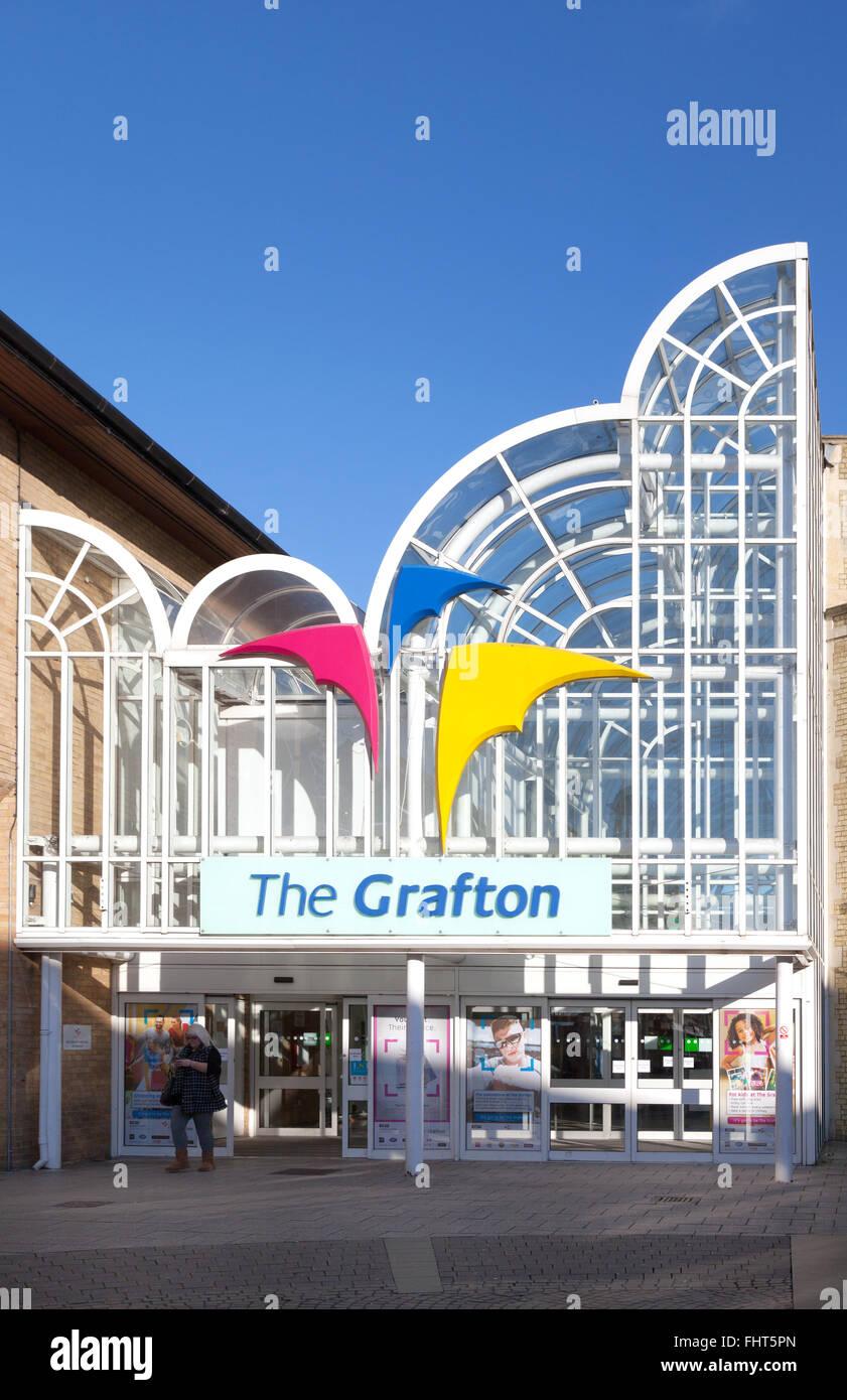 The grafton shopping centre cambridge uk stock photo for The grafton