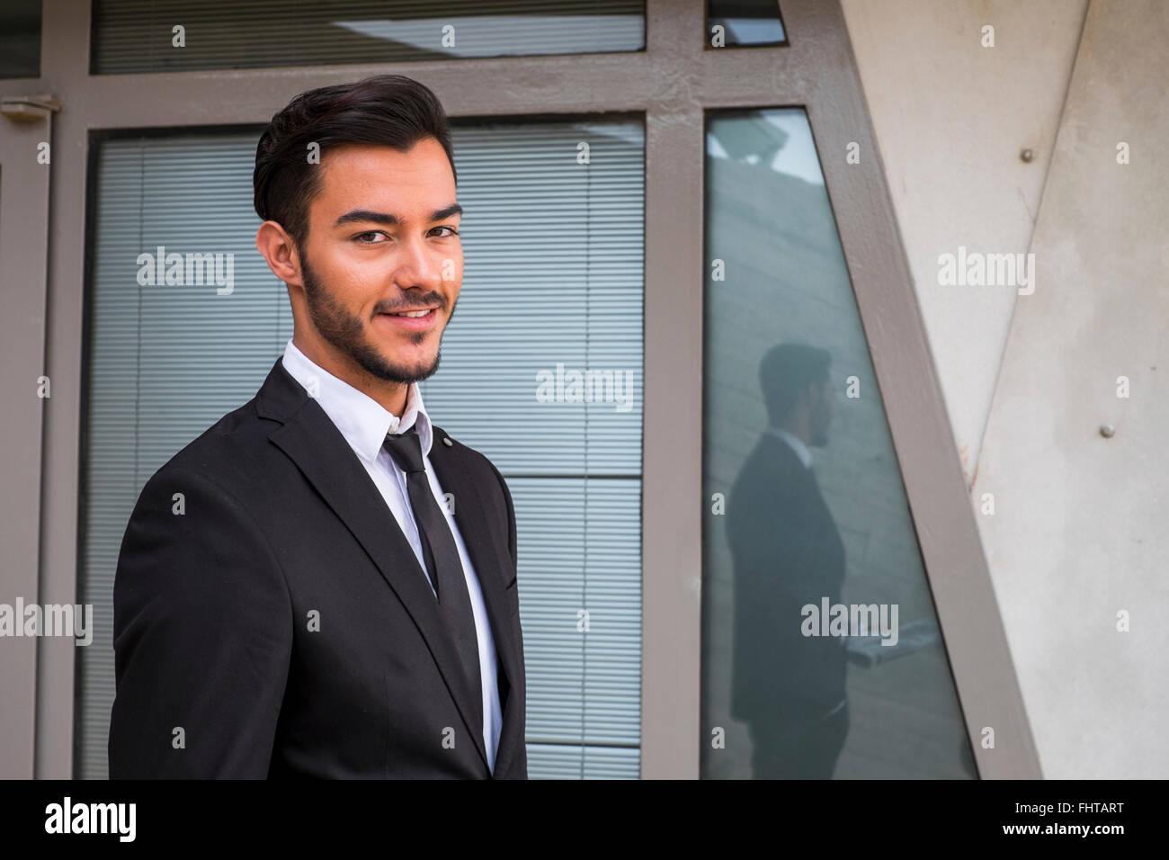 Black Suit Beard Stock Photos & Black Suit Beard Stock Images - Alamy