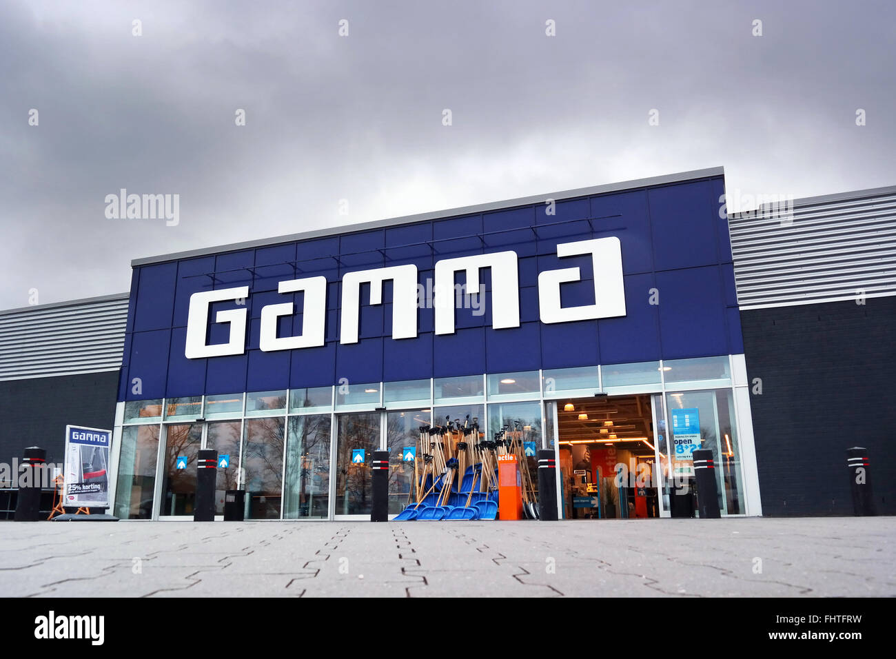 Branch of Gamma Do-It-Yourself Centre - Stock Image