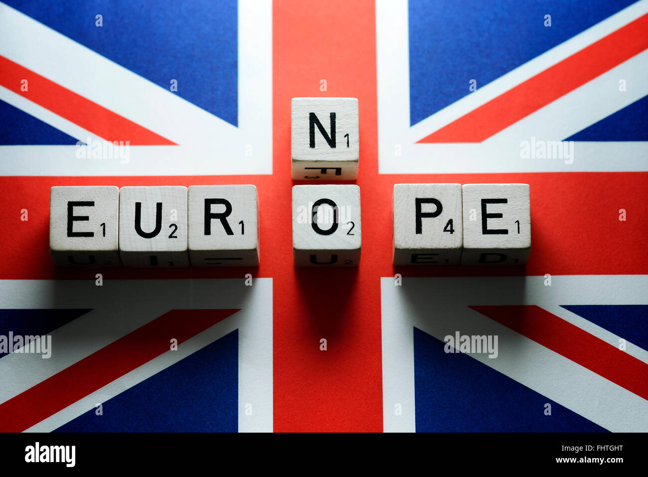 UK European Union memberchip, Brexit - Stock Image