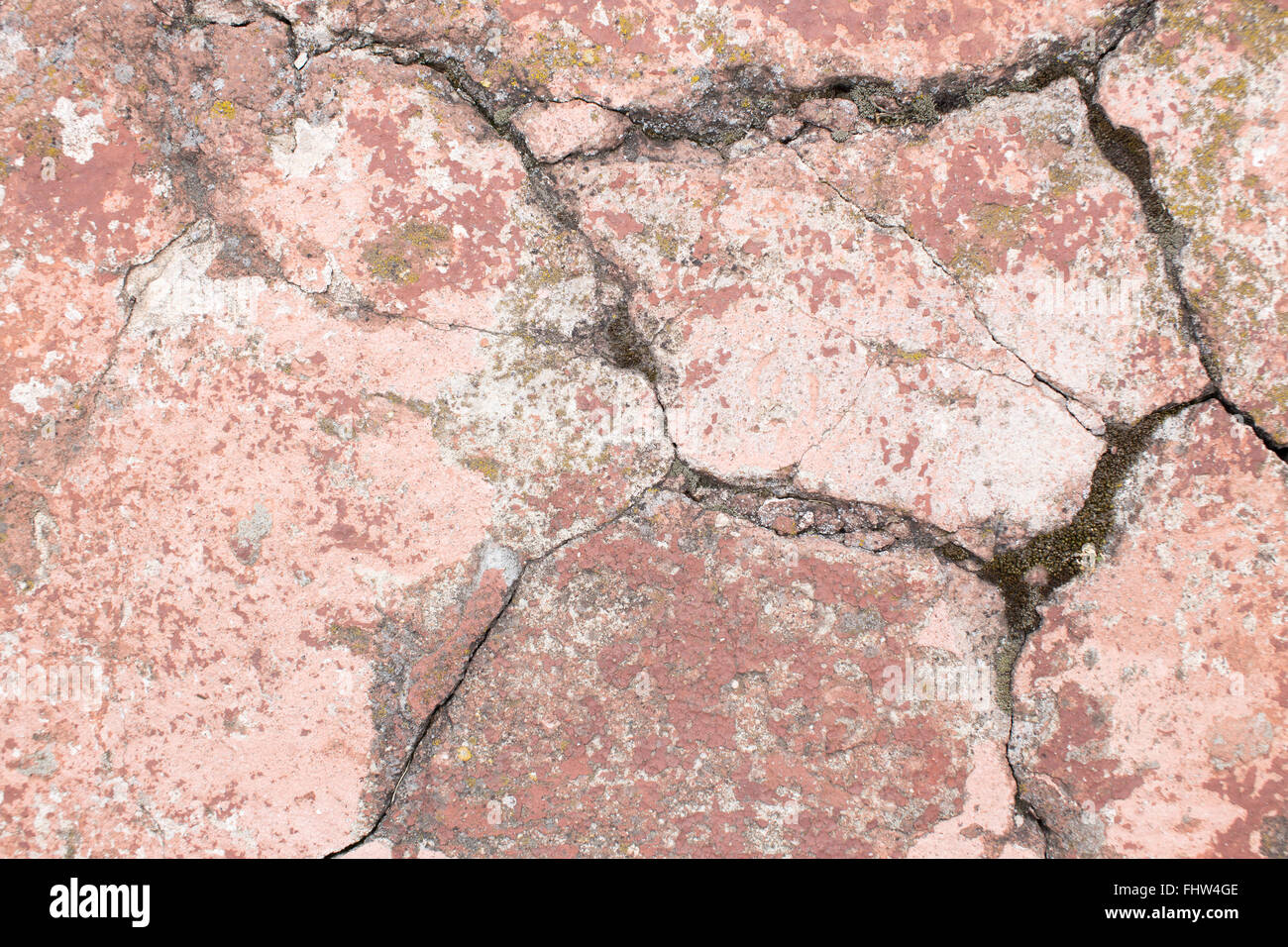 Cracked painted concrete texture Stock Photo 97053390 Alamy