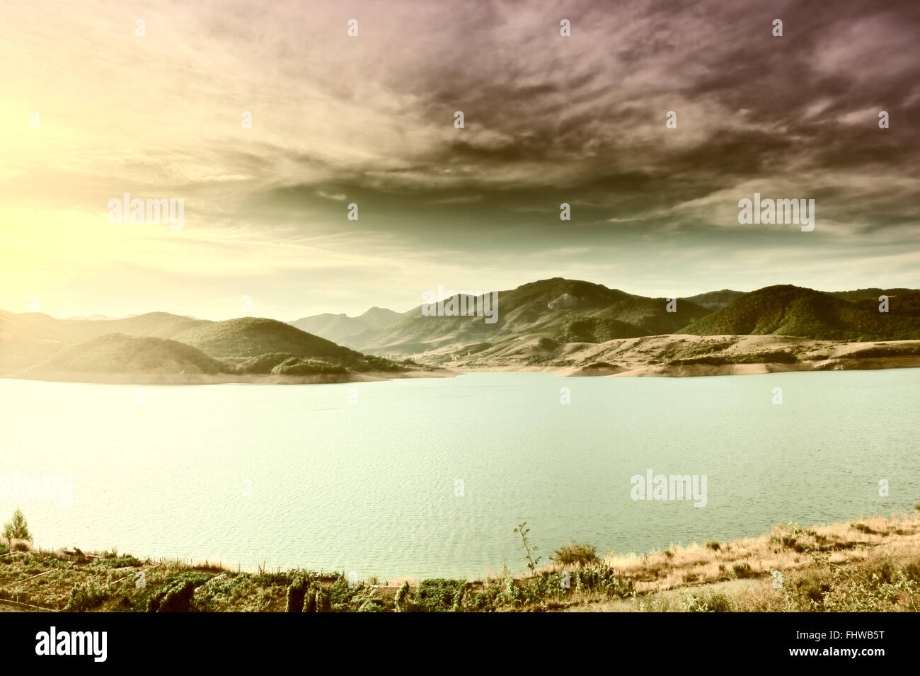 Lake - Stock Image
