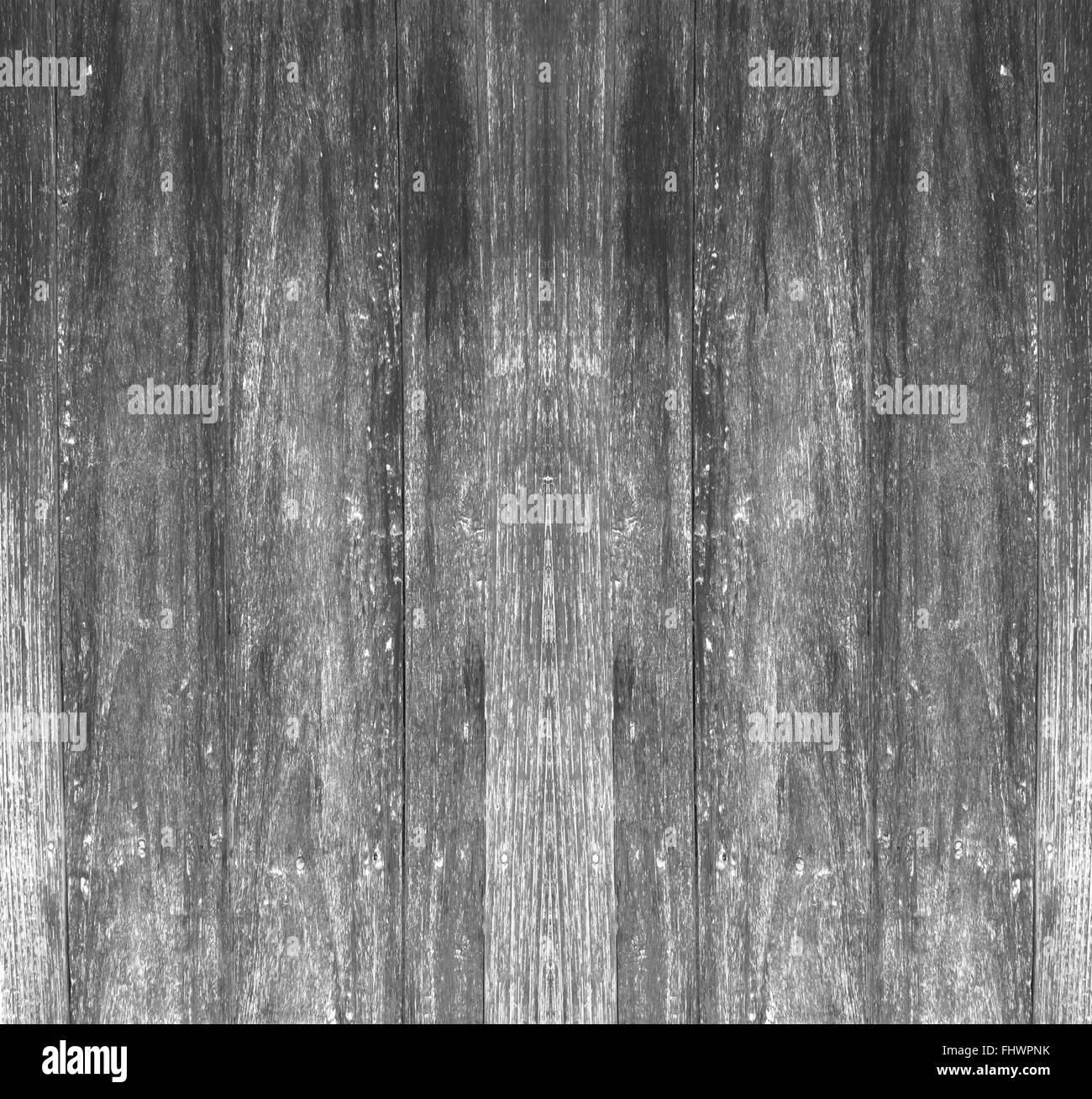 Wooden planks black background old vintage antique style textured background. - Stock Image