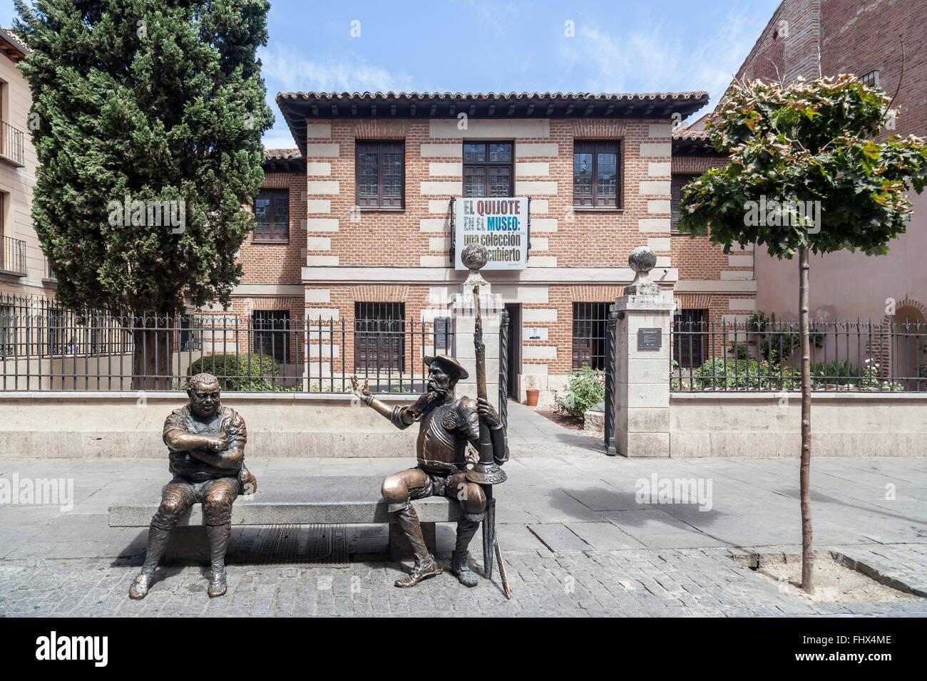 Alcalá de Henares,Spain. Museo Casa Natal de Cervantes. - Stock Image