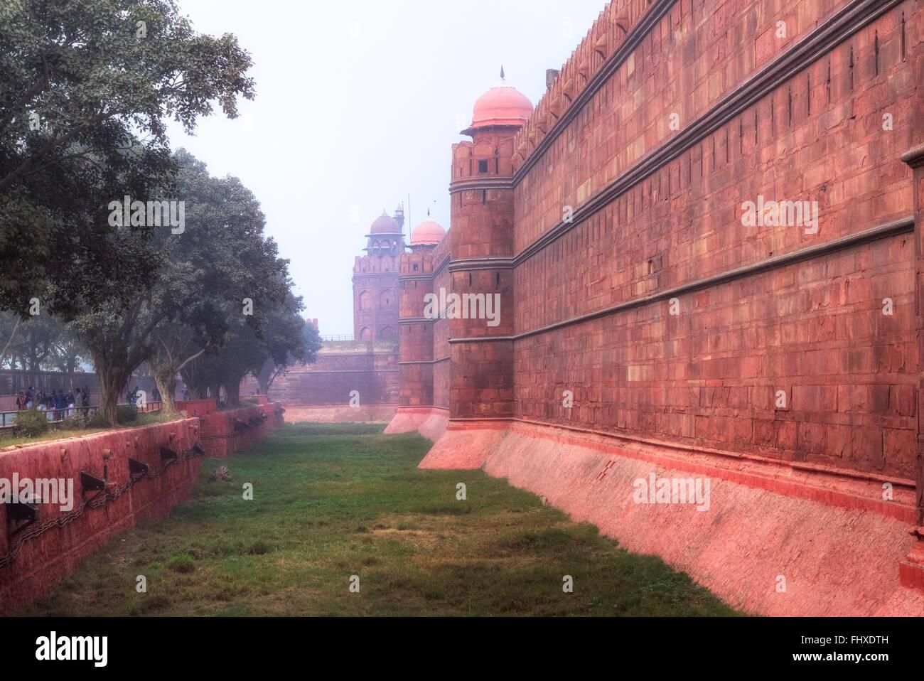 Red Fort, Delhi, India, Asia - Stock Image