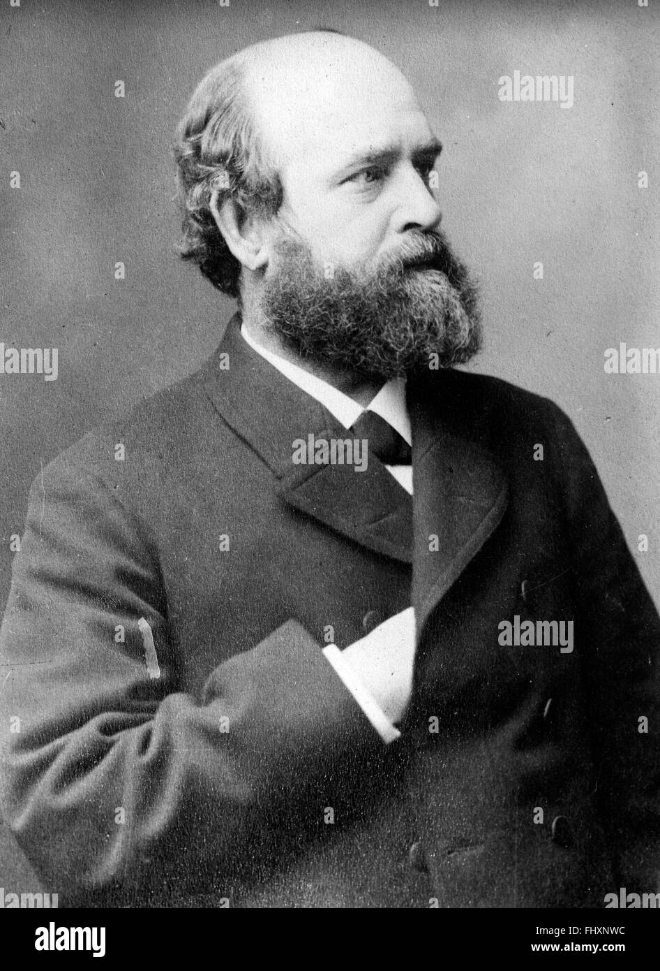 Henry George, American political economist - Stock Image