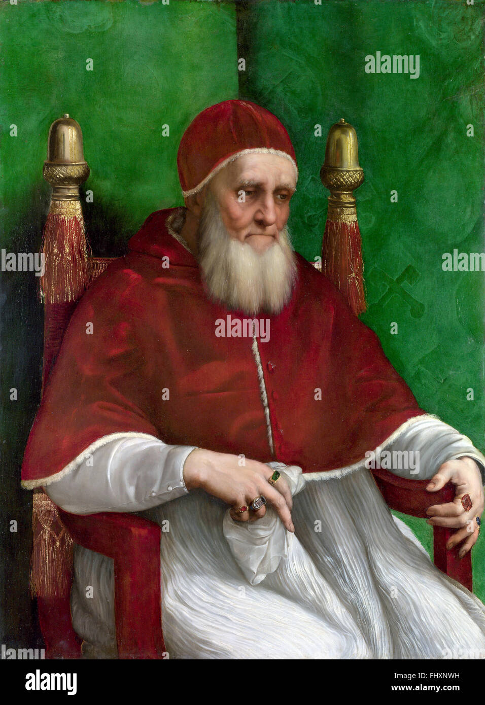 Pope Julius II - Stock Image