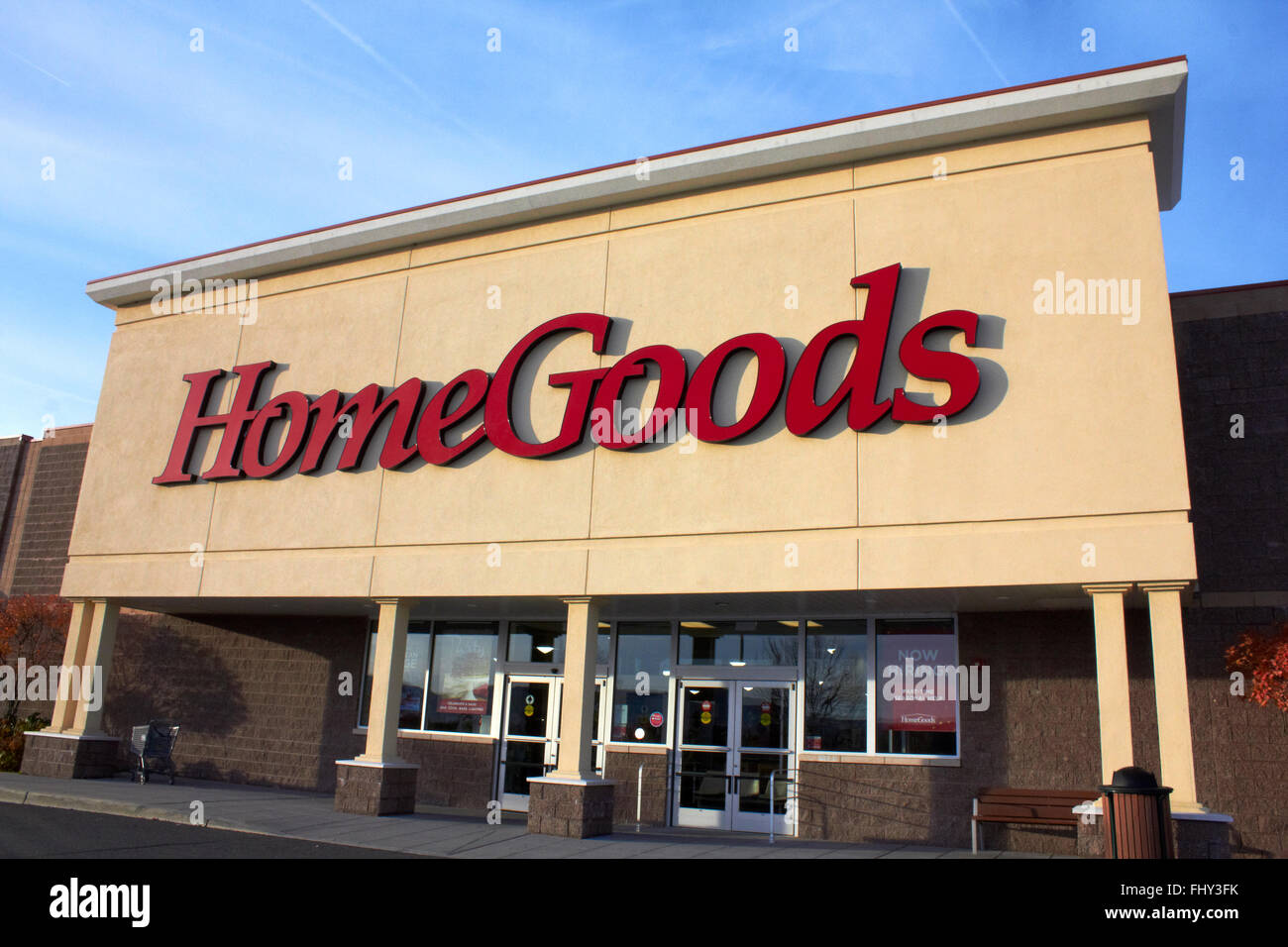 Home Goods Store Front Stock Photo 97096487 Alamy