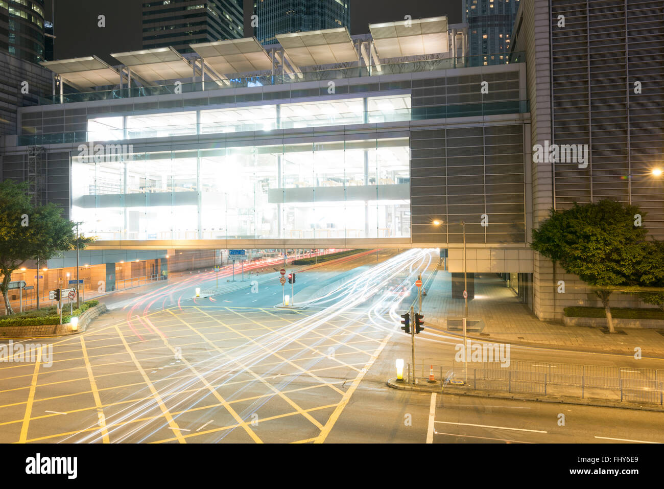 HONG KONG, CHINA - 25 FEB 2016: Apple Store in International Financial Center, Hong Kong. Stock Photo