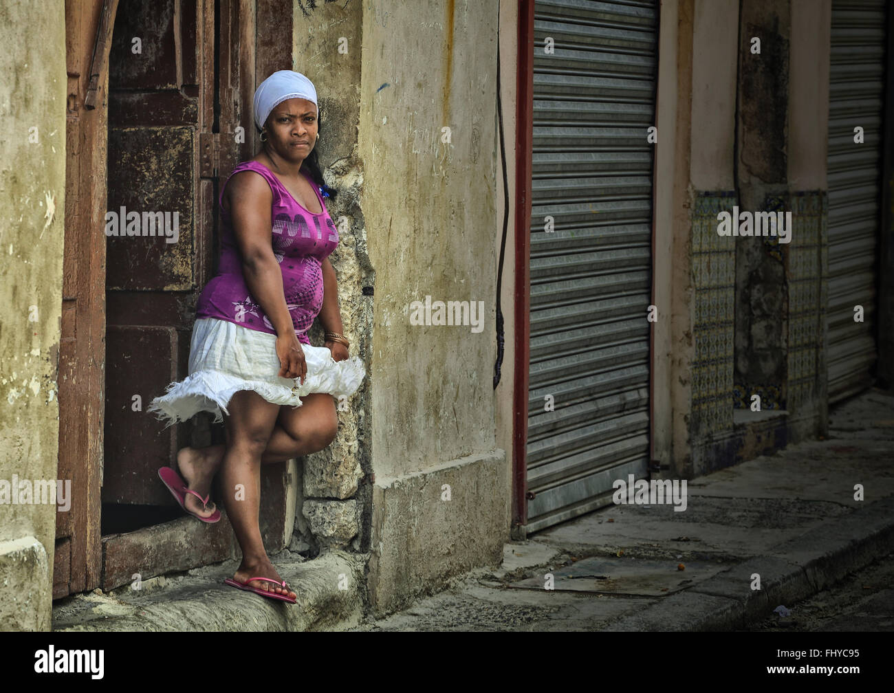 Afro Cuban Lady Woman Stock Photos Afro Cuban Lady Woman Stock