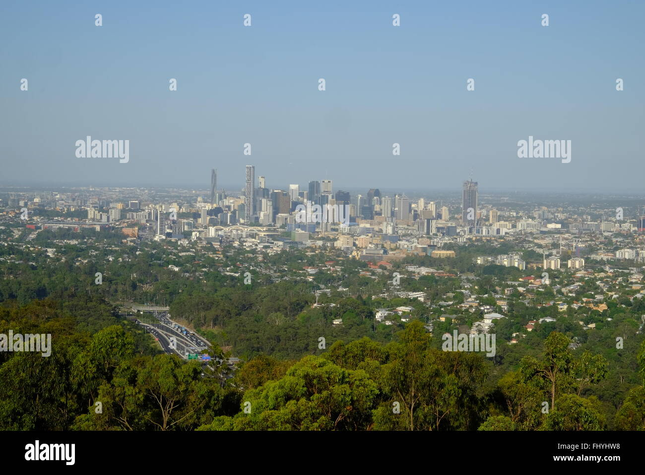 View of Brisbane - Stock Image