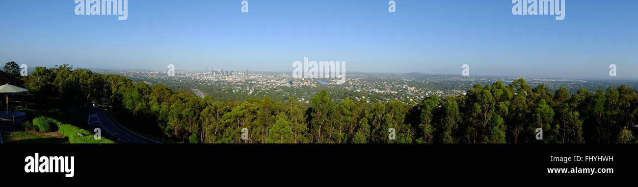 Panorama of Brisbane - Stock Image