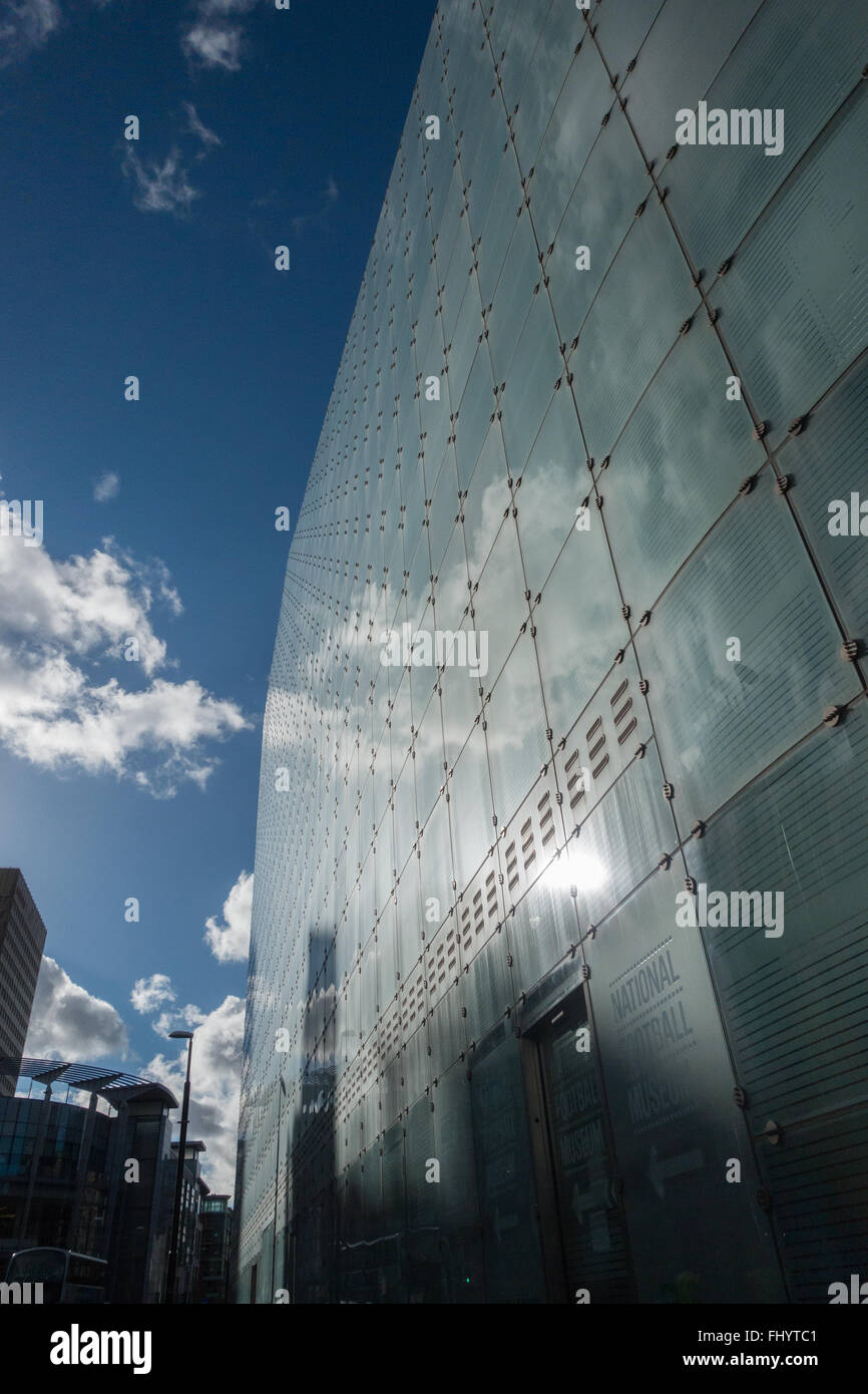 The National Museum of Football in Manchester City Centre, UK - Stock Image