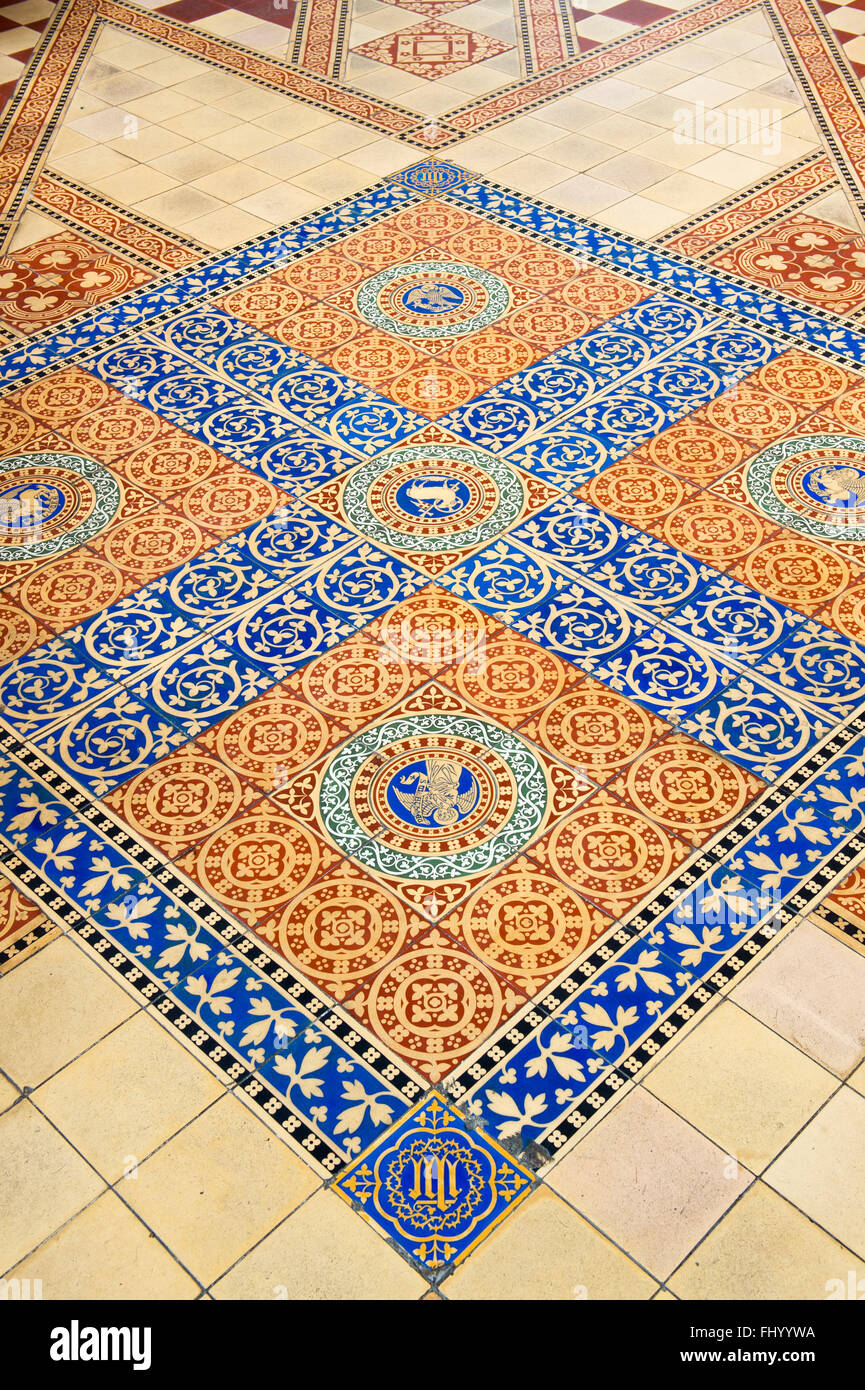 Minton Tile Tiles Floor Stock Photos Minton Tile Tiles Floor Stock