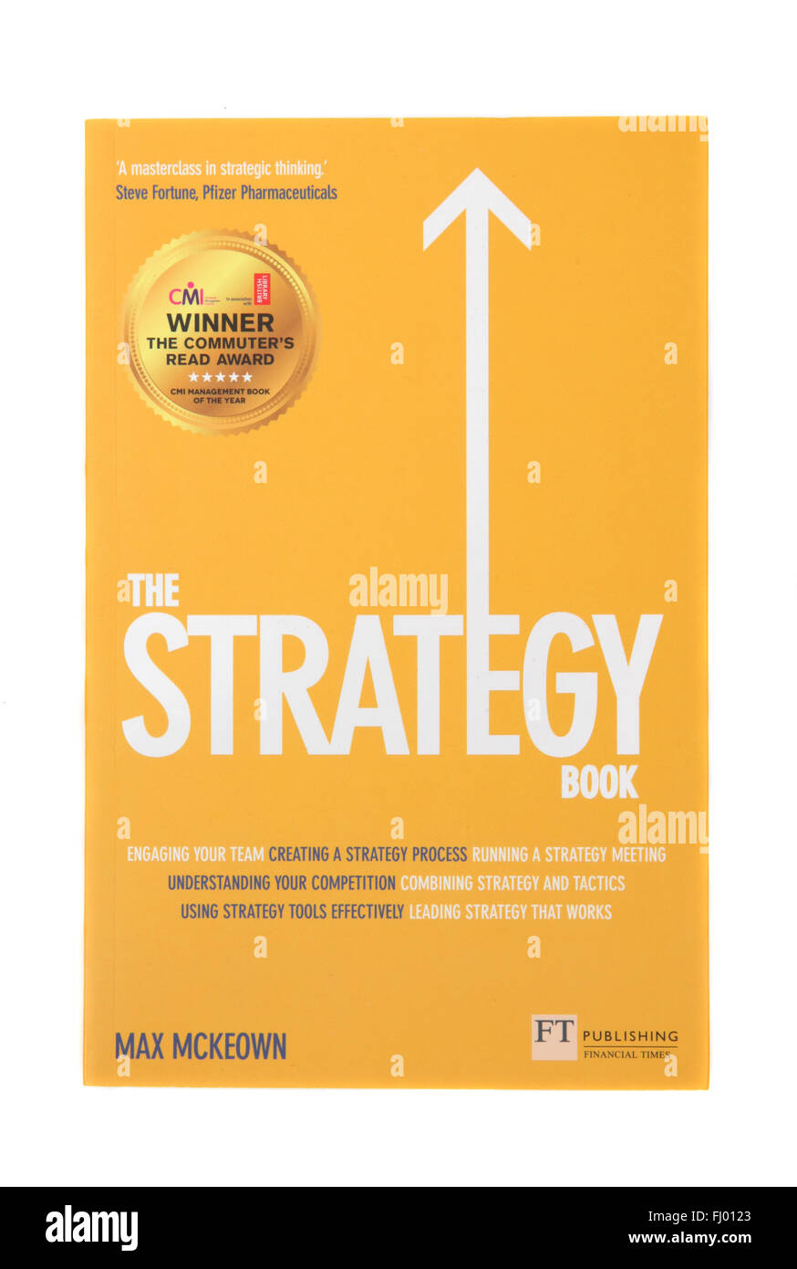 The book - The Strategy Book by Max McKeown - Stock Image