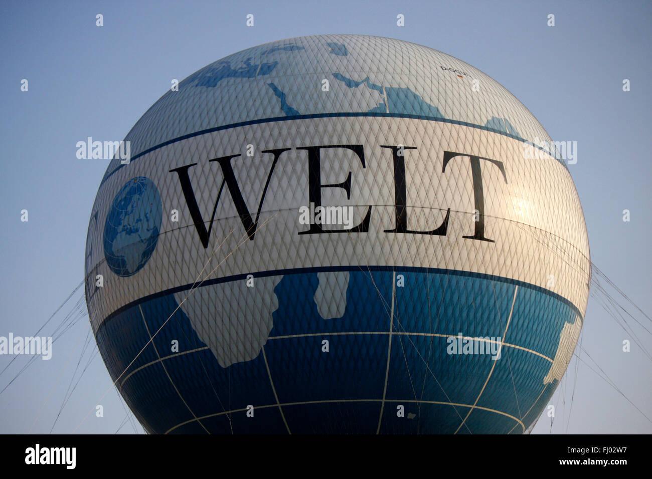 Markenname: 'die Welt', Berlin. - Stock Image