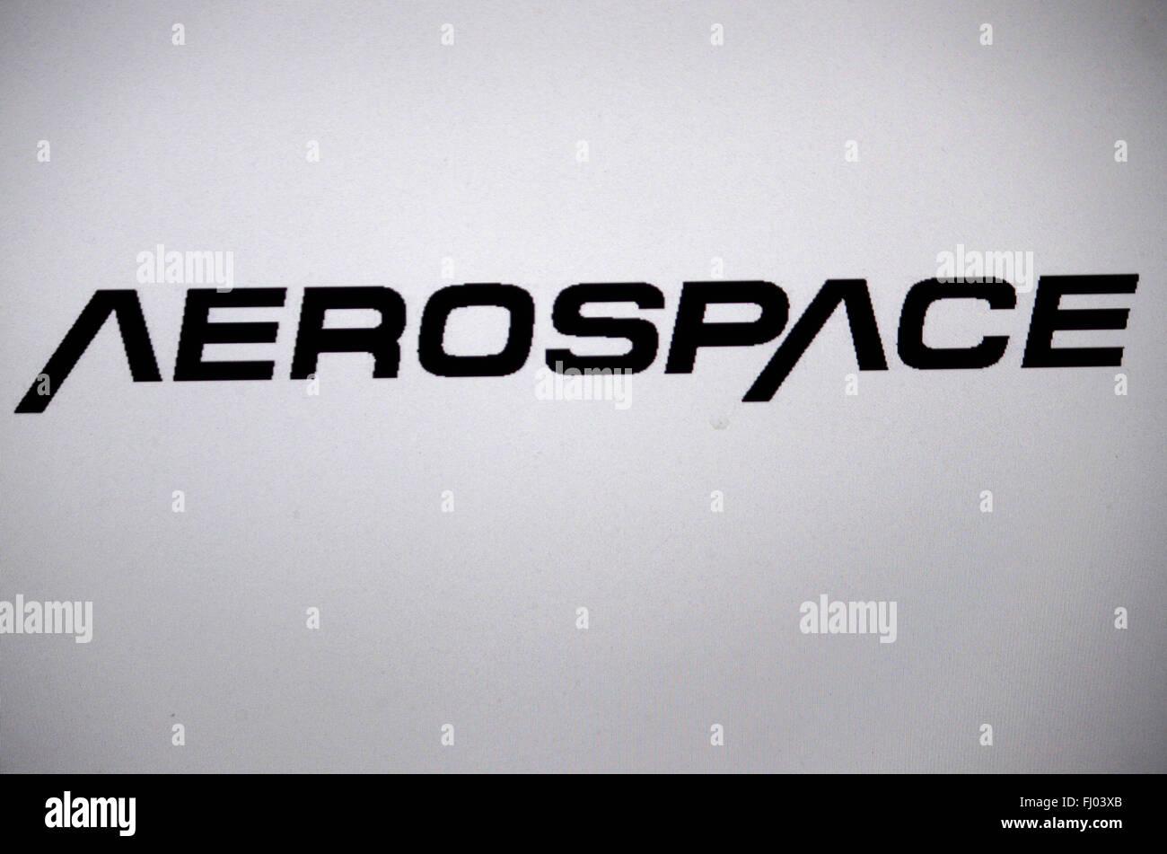 Markenname: 'Aerospace', Berlin. - Stock Image