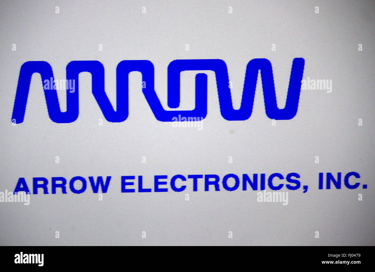 Markenname: 'Arrow Electronics', Berlin. - Stock Image