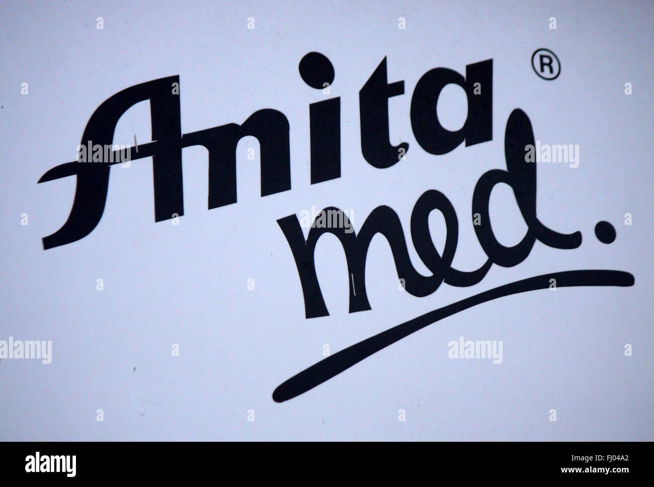 Markenname: 'Anita Med', Berlin. - Stock Image