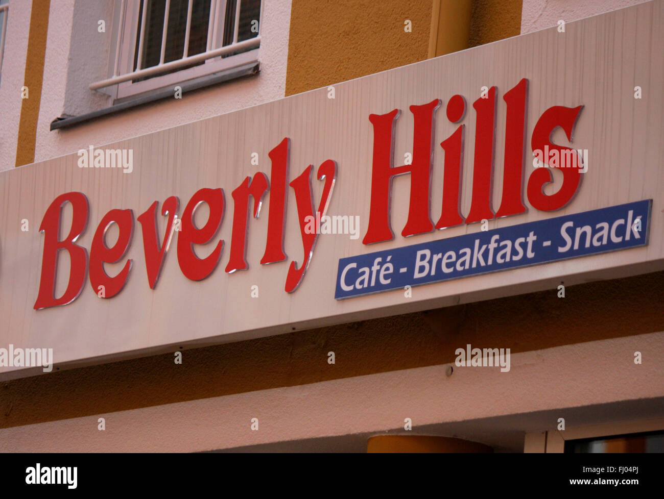 Markenname: 'Beverly Hills', Berlin. - Stock Image