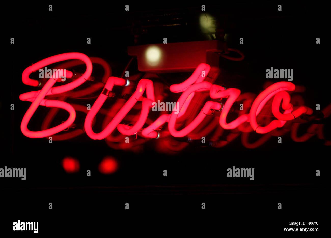Markenname: 'Bistro', Berlin . - Stock Image