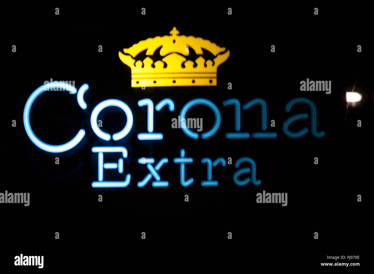 Markenname: 'Corona Extra', Berlin. - Stock Image