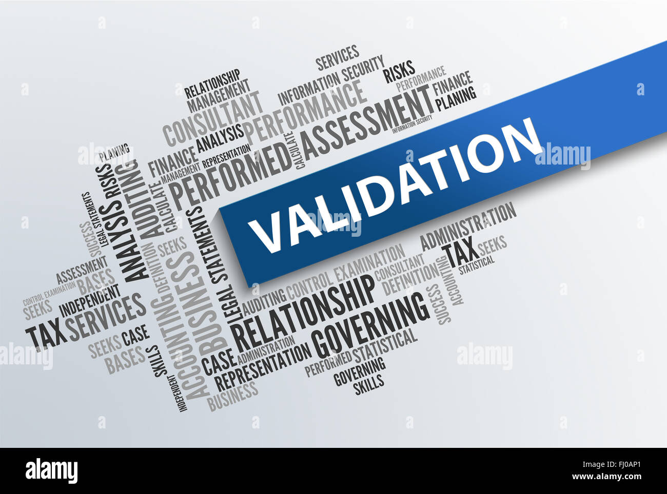 Validation   Business Wallpaper - Stock Image