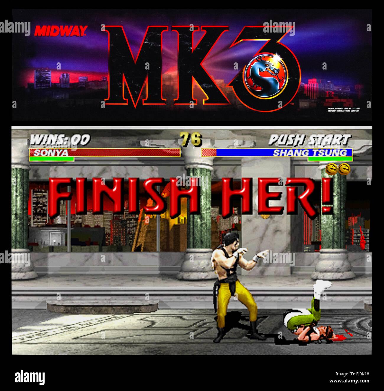 Mortal Kombat 3 1994 Midway Stock Photo: 97130580 - Alamy