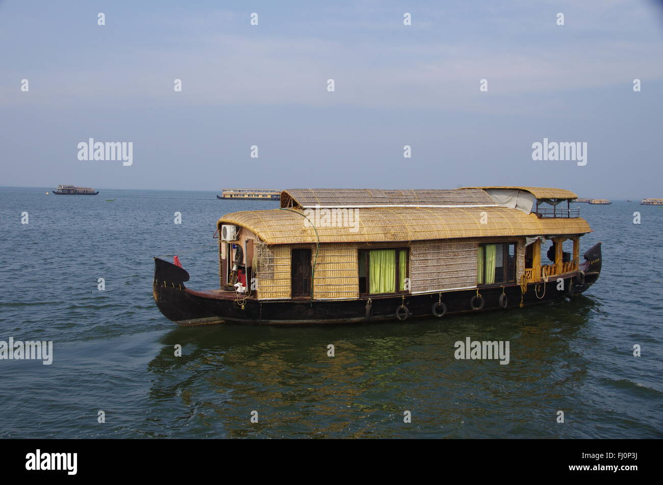 House Boat - Stock Image